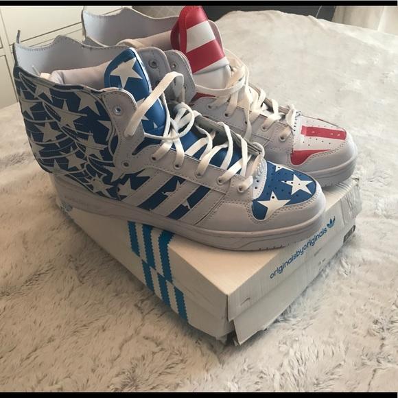 on sale 2de6c e793c Jeremy Scott x Adidas Other - Jeremy Scott x Adidas USA wings 2.0